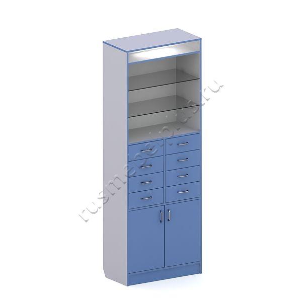 Шкаф полуоткрытый АПШ-08