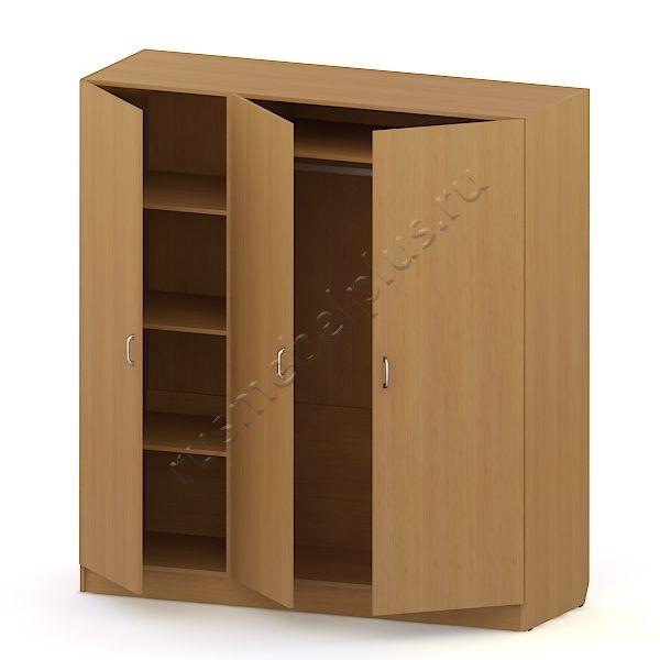Шкаф платяной 3-створчатый (комбинированный) АРМ-01