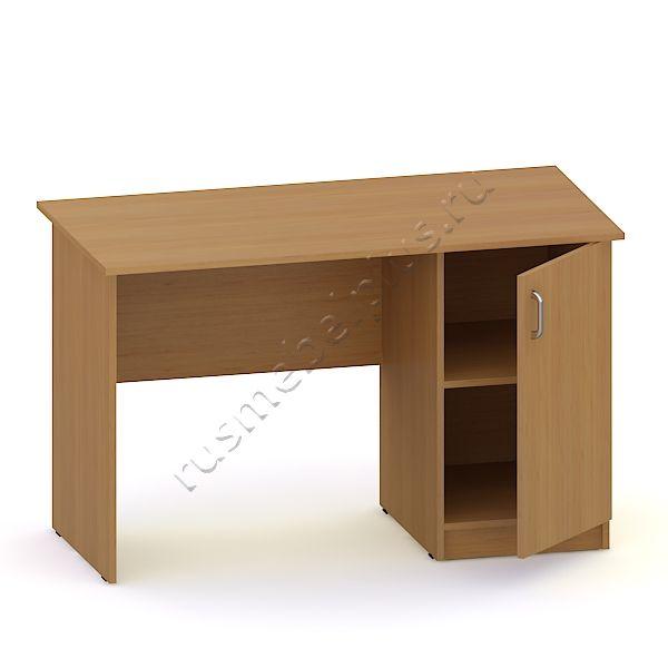 Стол письменный 1-тумбовый с дверкой АРМ-17