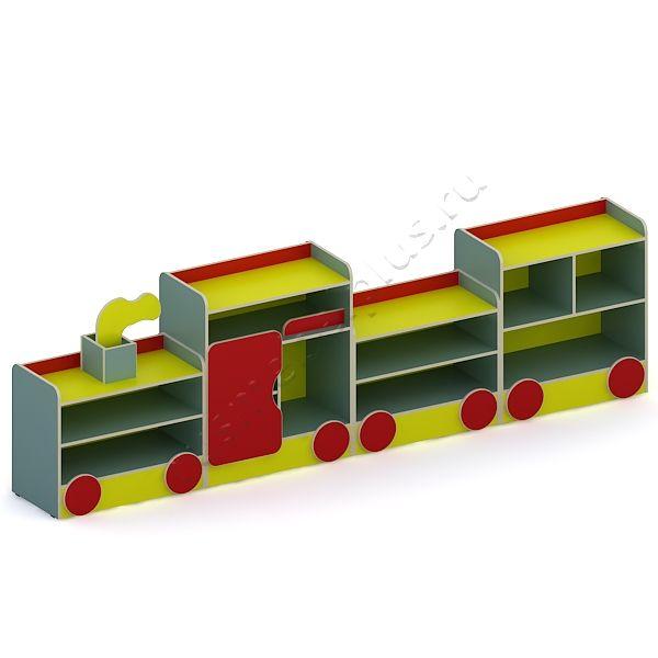Стенка «Поезд» ДМ-43