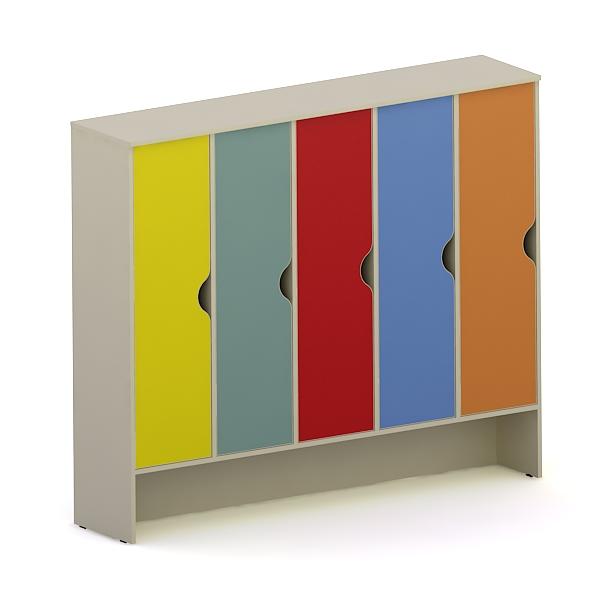 Шкаф детский 5-секционный ДМ-59