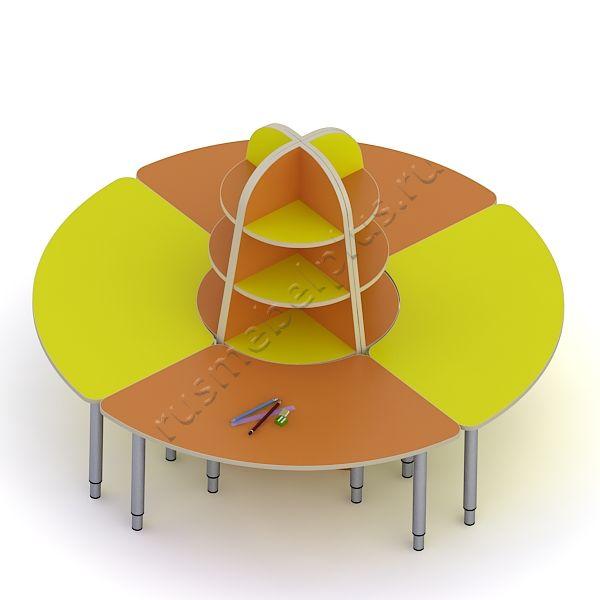 Стол «Ромашка» ДМ-69