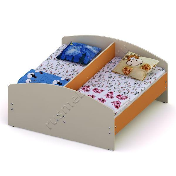 Кровать двойная ДМ-75