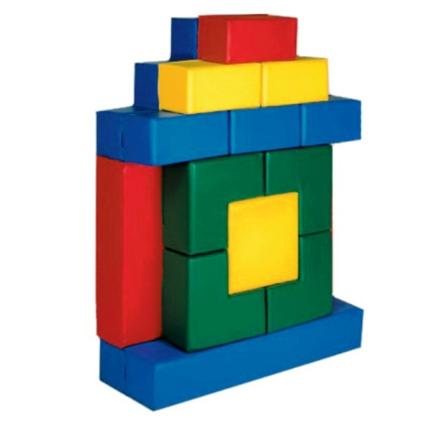 Мягкий строительный набор «Теремок» ДММ-09