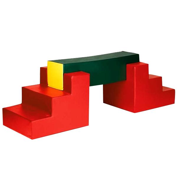 Игровой набор «Спорт с брусом и ступенями» ДММ-16
