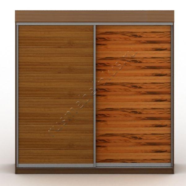 Двери шкафов-купе из бамбука