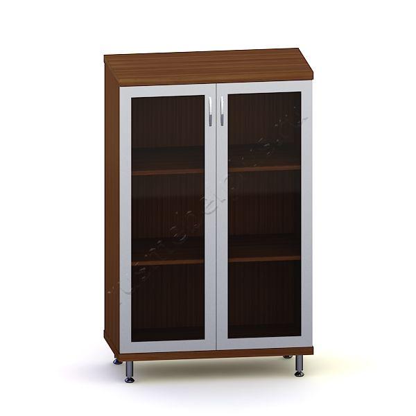 Шкаф для документов низкий со стеклом ИКДШН-02