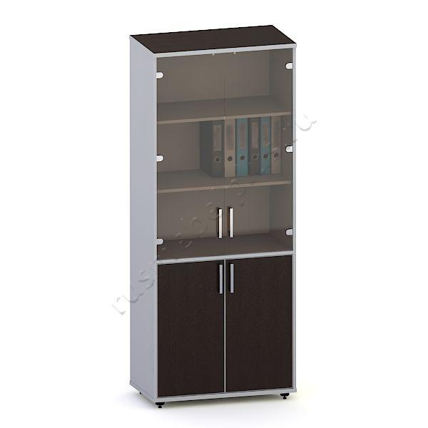 Шкаф для документов со стеклом К.ШД-04