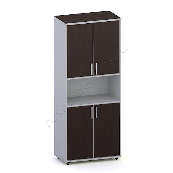 Шкаф для документов закрытый с нишей К.ШД-06