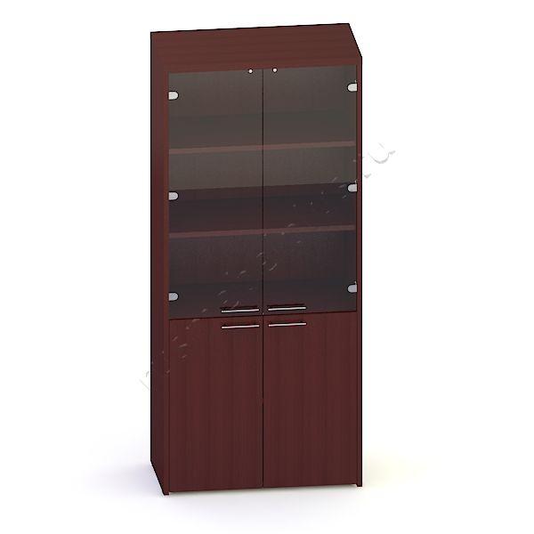 Шкаф для документов со стеклом ЛКДШ-07