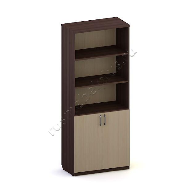 Шкаф для документов полуоткрытый Л.Ш-03