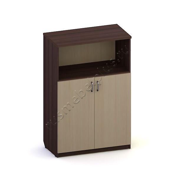 Шкаф-стеллаж средний закрытый Л.ШС-02