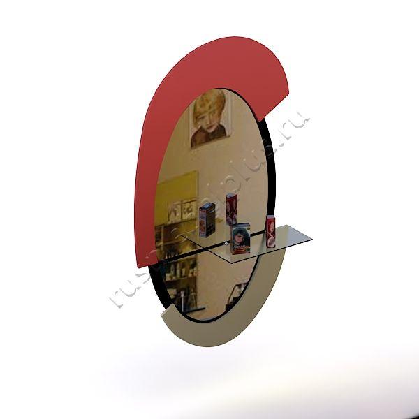 Зеркало парикмахера Рондо ПМ-09