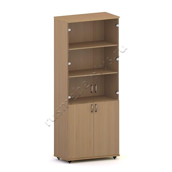 Шкаф для документов со стеклом Р.ШД-02