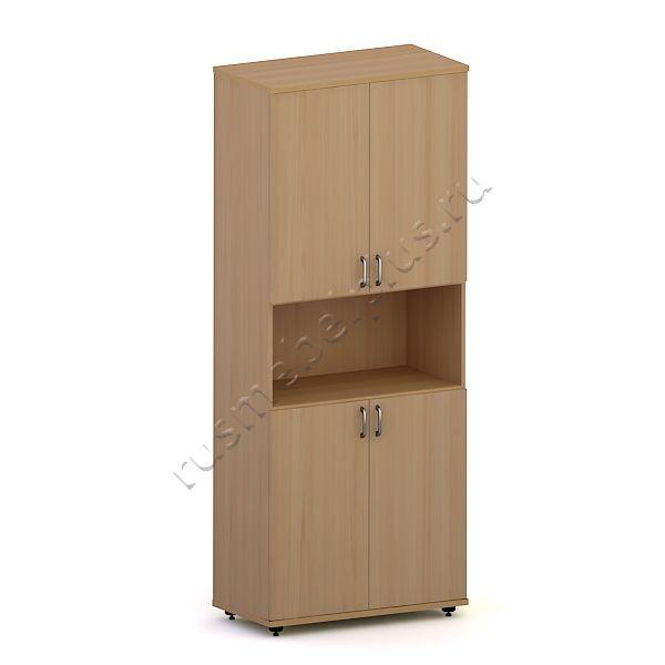 Шкаф для документов закрытый с нишей Р.ШД-03