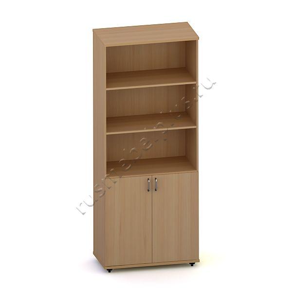 Шкаф для документов полуоткрытый Р.ШД-04