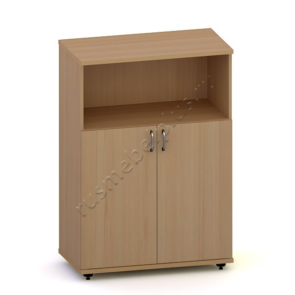 Шкаф низкий закрытый с нишей Р.ШН-03