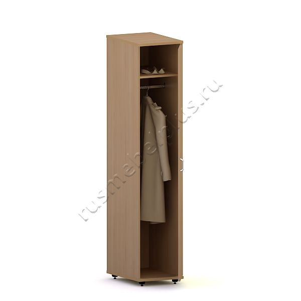 Шкаф-пенал для одежды Р.ШПБ-01